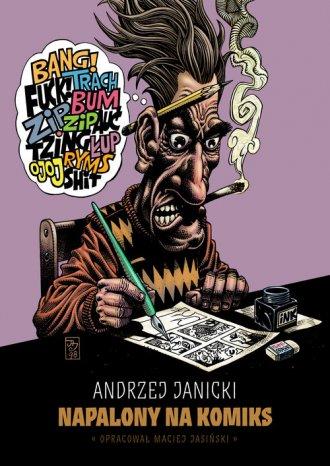 Napalony na komiks - okładka książki