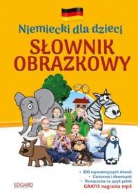 Niemiecki dla dzieci. Słownik obrazkowy - okładka podręcznika