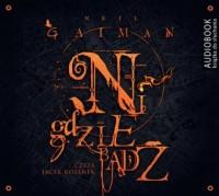 Nigdziebądź - Neil Gaiman - pudełko audiobooku