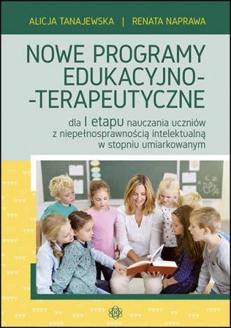 Nowe programy edukacyjno-terapeutyczne. - okładka książki