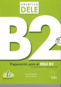Objetivo DELE nivel B2 (książka + CD) - okładka podręcznika