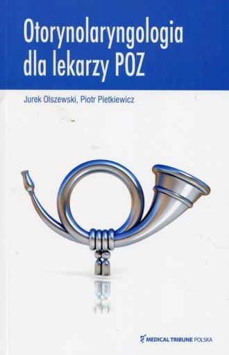 Otorynolaryngologia dla lekarzy - okładka książki
