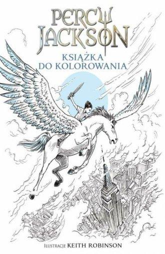 Percy Jackson. Książka do kolorowania - okładka książki