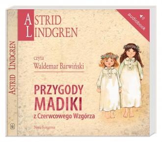 Przygody Madiki z Czerwcowego Wzgórza - pudełko audiobooku