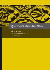 Quaestiones Medii Aevi Novae, Vol. 21. Cultures of War, Liturgy - okładka książki