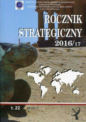 Rocznik Strategiczny 2016/2017 - okładka książki