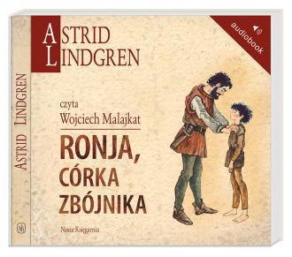 Ronja, córka zbójnika - pudełko audiobooku
