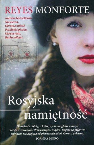 Rosyjska namiętność - okładka książki