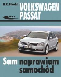 Volkswagen Passat modele 2010-2014 (typu B7) - okładka książki