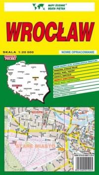 Wrocław 1:20 000 - okładka książki