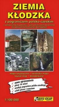 Ziemia Kłodzka mapa turystyczna 1:100 000 - okładka książki