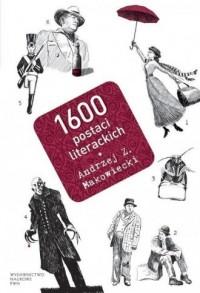 1600 postaci literackich - Andrzej - okładka książki