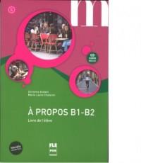 A propos B1-B2. Podręcznik (+ CD) - okładka podręcznika