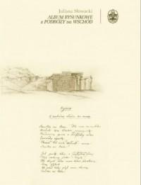 Album rysunkowe z podróży na Wschód - okładka książki