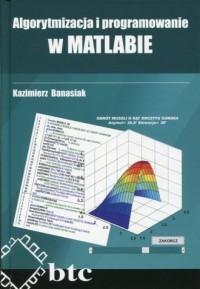 Algorytmizacja i programowanie w MATLABIE - okładka książki
