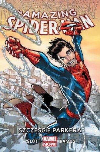 Amazing Spider-Man. Tom 1. Szczęście - okładka książki