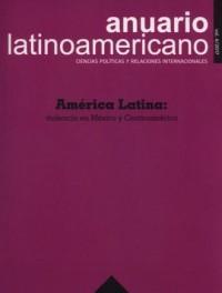 Anuario Latinoamericano - Ciencias - okładka książki