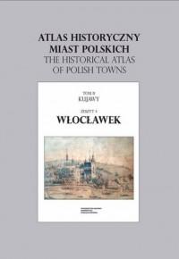 Atlas historyczny miast polskich. - okładka książki