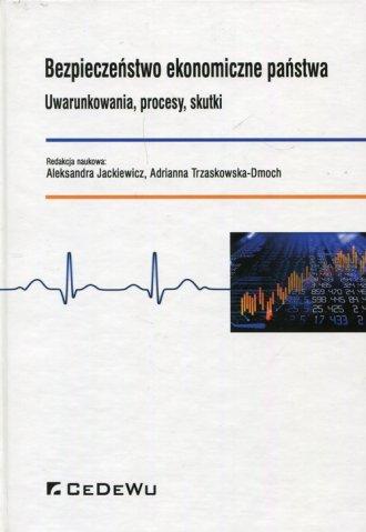 Bezpieczeństwo ekonomiczne państwa. - okładka książki