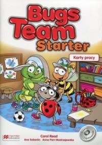 Bugs Team Starter. Karty pracy - okładka podręcznika