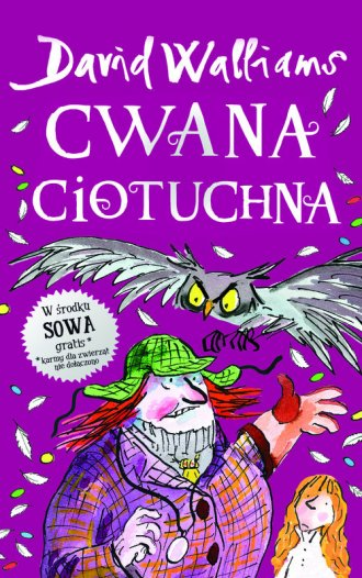 Cwana ciotuchna - okładka książki
