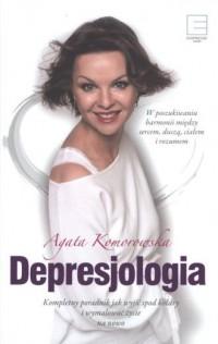 Depresjologia - Agata Komorowska - okładka książki