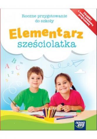 Elementarz sześciolatka Box - okładka podręcznika