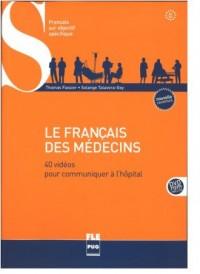 Francais des medecins B1-B2 (książka + DVD ROM) edycja 2014 - okładka książki