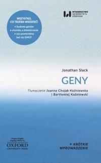 Geny - okładka książki