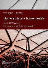 Homo ethicus - homo moralis. Marii - okładka książki