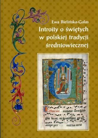 Introity o świętych w polskiej - okładka książki
