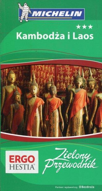 Kambodża i Laos Zielony. Przewodnik - okładka książki