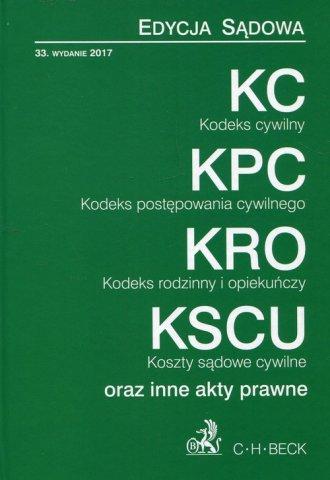 Kodeks cywilny. Kodeks postępowania - okładka książki