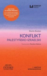 Konflikt palestyńsko-izraelski - okładka książki