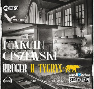 Krüger. Tom 2 - Tygrys - pudełko audiobooku