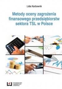 Metody oceny zagrożenia finansowego - okładka książki
