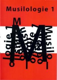 Musilologie 1 - okładka książki
