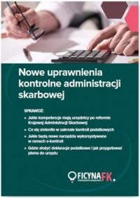 Nowe uprawnienia kontrolne administracji - okładka książki