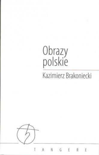 Obrazy polskie - okładka książki