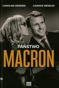 Państwo Macron - Caroline Derrien - okładka książki