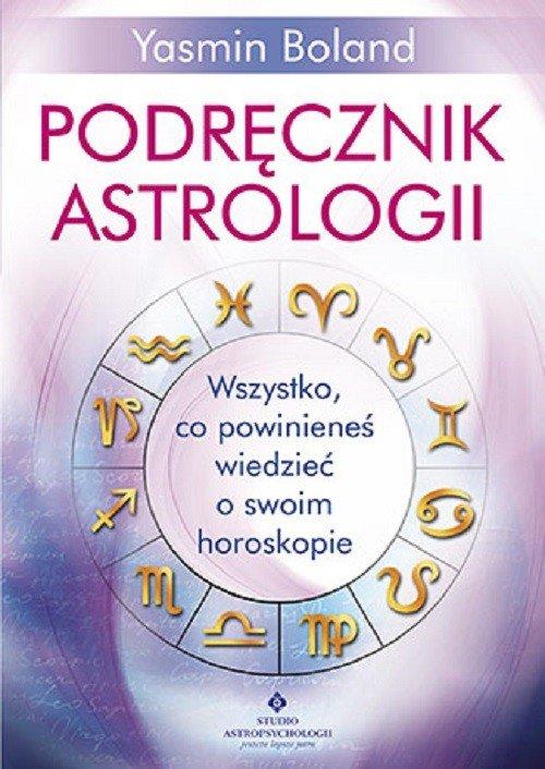 Podręcznik astrologii - okładka książki