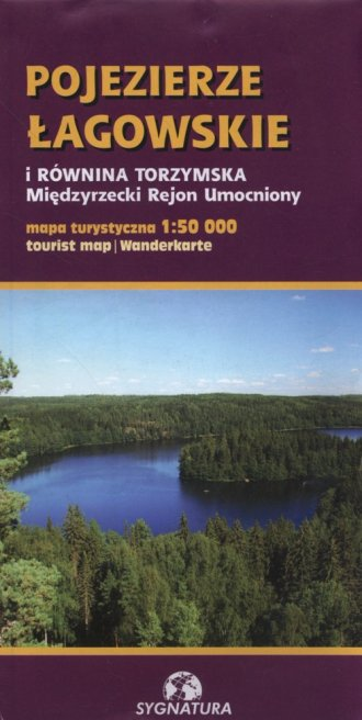 Pojezierze Łagowskie i Równina - okładka książki