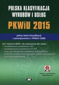 Polska klasyfikacja wyrobów i usług - okładka książki