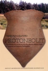 Protoneolit. Obozowiska łowieckie ze schyłku okresu atlantyckiego w Tanowie na Pomorzu Zachodnim - okładka książki