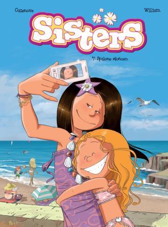 Sisters. Tom 7. Spalone słońcem - okładka książki