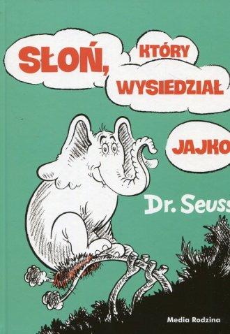 Słoń, który wysiedział jajko - okładka książki
