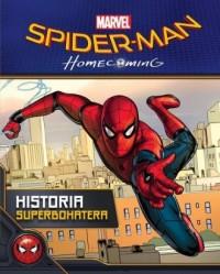 Spider-Man Homecoming. Historia - okładka książki