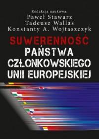 Suwerenność państwa członkowskiego - okładka książki