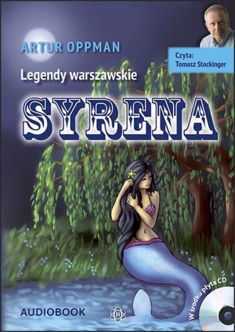 Syrena - pudełko audiobooku