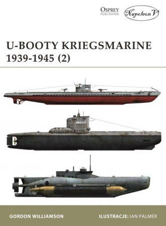 U-Booty Kriegsmarine 1939-1945 - okładka książki